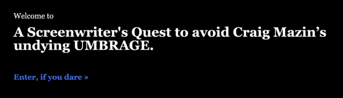The Quest for Umbrage Screenshot
